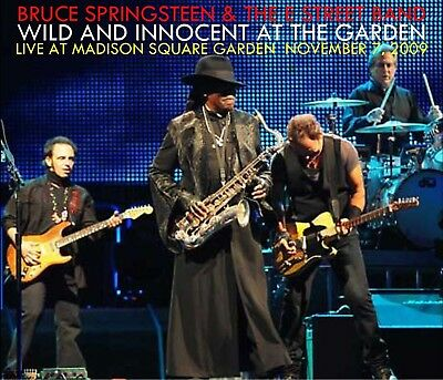 Bruce Springsteen - Wild And Innocent At The Garden 3-CD Live 11/7/09 Rosalita
