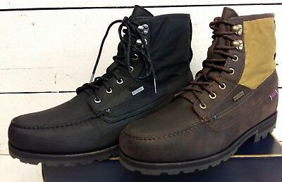 Men's Sebago Vershire Waterproof Leather/Canvas Lace Up Boots