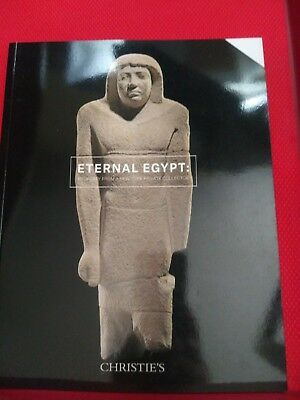 Christie's Catalogue  : Eternal Egypt - SEKHEMANKHPTAH. NYANKHNESUT LIMESTONES