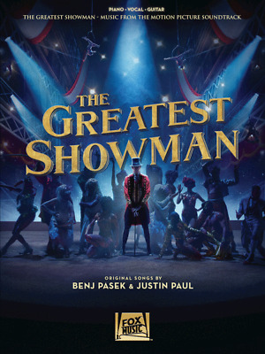 """The Greatest Showman"" MUSIC BOOK-PIANO/VOCAL/GUITAR-BRAND NEW ON SALE"