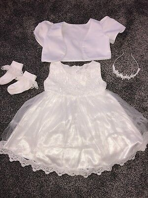 Girls Christening Outfit Age 2-3