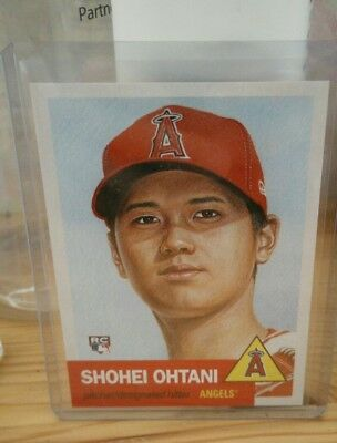 Shohei Ohtani RC 2018 TOPPS LIVING SET CARD #7 Los Angeles Angels Limited READ