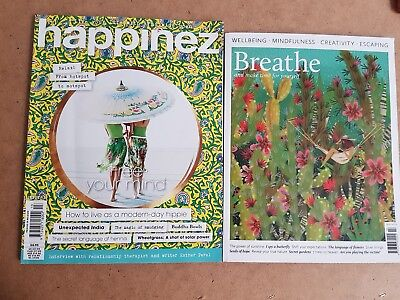 Happinez magazine #13 2018 How to Live as a Modern-Day Hippie + India, Smudging