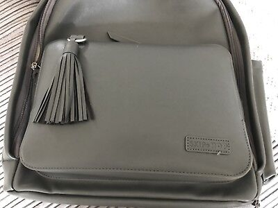 Skip Hop Greenwich Simply Chic Nappybag/Backpack/Changing Bag