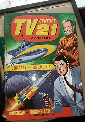 TV Century 21 annual 1965- Stingray- Gerry Anderson