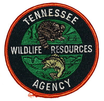 TENNESSEE – WILDLIFE RESOURCES AGENCY – DNR TN Police Sheriff Patch FISH RACOON