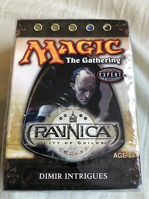 MtG Ravnica – New Starter Theme Deck Dimir Intrigues – Sealed Pack Magic The Gat