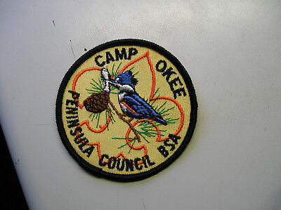 vintage boy scout camp patch Camp Okee