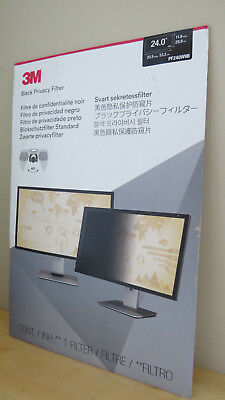 "3M Pf240W9B Black Privacy Filter 24"" Widescreen Filter"