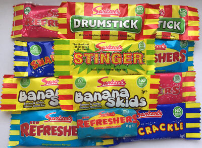 Swizzels Mini Me Vegetarian Refreshers Stinger Drumstick Chews Retro Sweet Candy