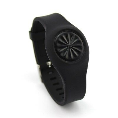 (Black) - VOMA Newest Jawbone Up Move Buckle Bracelet - Adjustable Wristband