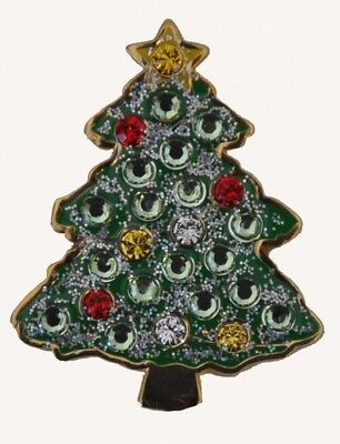 Navika Christmas Tree. Crystal and Glitz Ball Marker with Hat Clip. Huge Saving
