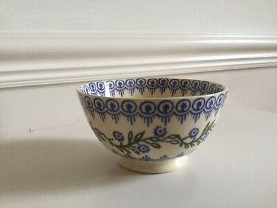 Brixton Pottery - Small Bowl - Blue pattern