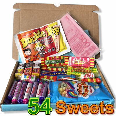 Swizzels Barratts Sweet Hamper Personalised Gift Traditional Old Fashioned Retro