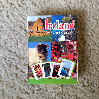 Ireland Playing Cards Deck with Pictures of Ireland Dublin