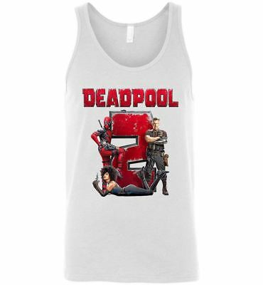 Marvel Deadpool 2 T Shirt Super Duper Comic Movie Tee Men Women T-Shirt Tank Top