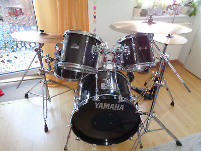 Schlagzeug Yamaha Club Custom, Drumset , made in Japan