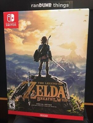 NEW The Legend of Zelda: Breath of the Wild SPECIAL EDITION Nintendo Switch - NJ