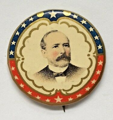 Alton B. Parker Patriotic 1904 Advertising Political Campaign Pin-Back Button