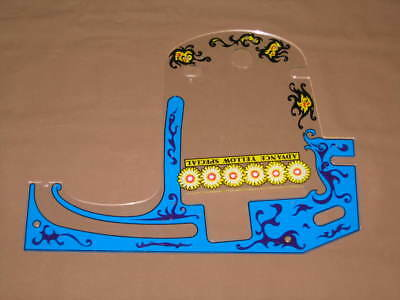 Pinball Zaccaria Farfalla Second Playfield Plastic Flipper