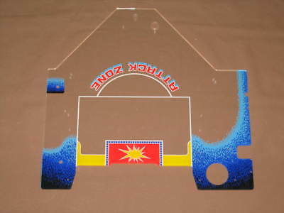 Pinball Zaccaria Soccer Kings Second Playfield Plastic Flipper