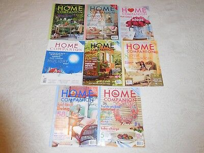 Mary Engelbreit Home Companion Magazine 8 Issues All With Paper Dolls 2002-05