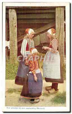 Nederland - Holland - Pays Bas - Folkore - Costumes - Kind - Meid CPA
