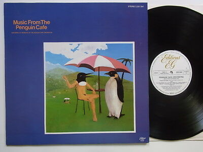 LP: Penguin Cafe Orchestra: Music From The Penguin Cafe (Editions EG)