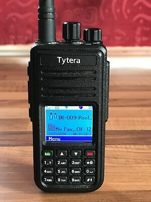 TYT MD-380 DMR UHF 400-480MHz Digital and Analogue Radio awesome firmware