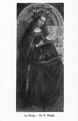 Gand Cathedrale St. Bavon Jean Van Eyck The Blessed Virgin, Vierge