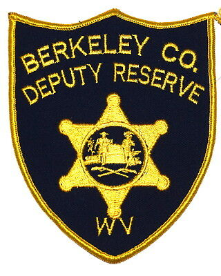 BERKELEY COUNTY – DEPUTY RESERVE – WEST VIRGINIA VA Police Sheriff Patch VINTAGE