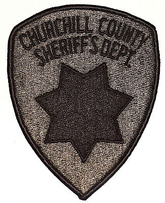CHURCHILL COUNTY – SWAT - NEVADA NV Police Sheriff Patch SUBDUED STAR ~