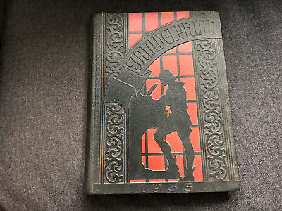 Vintage TRIADELPHIA HIGH SCHOOL Annual Yearbook 1935 Wheeling W Va West Virginia