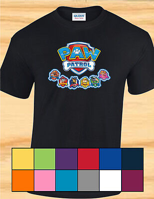 Paw Patrol - Adult, Child, Toddler, Shirt, Hoodie Tank Top - Many Sizes & Colors