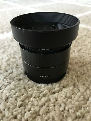 Sigma 30mm f/2.8 for Sony E-Mount