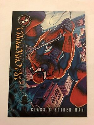 Spider-Man Premium '96 Fleer SkyBox Card #1 Classic Spider-Man