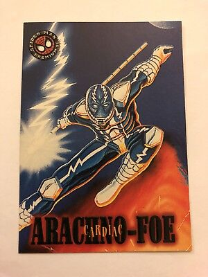 Spider-Man Premium '96 Fleer SkyBox Card #7 Cardiac