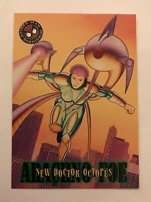 Spider-Man Premium '96 Fleer SkyBox Card #11 New Dr. Octopus