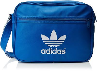 f32ba82942e7 New Adidas ORIGINALS Airline Adicolor Bag  messenger bag laptop sleeve blue