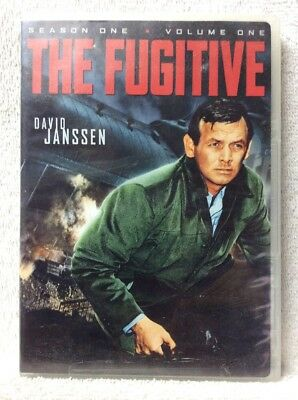 The Fugitive: Season One, Volume One DVD David Janssen Barry Morse RARE and OOP!