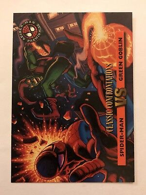 Spider-Man Premium '96 Classic Confrontations Fleer SkyBox Card #40