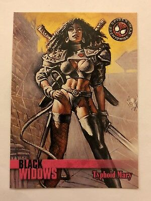Spider-Man Premium '96 Black Widows Fleer SkyBox Card #63 Typhoid Mary