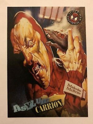 Spider-Man Premium '96 Asylum Fleer SkyBox Card #74 Carrion