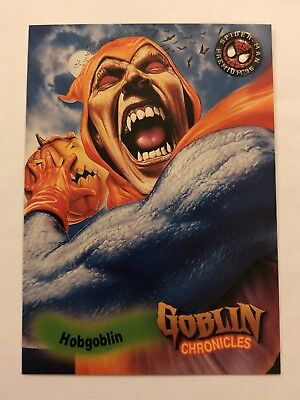 Spider-Man Premium '96 Fleer SkyBox Goblin Chronicles Card #85