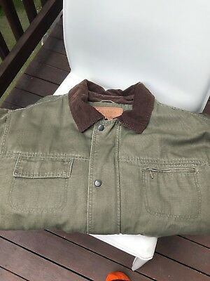 Outback Trading Co. Quilted Barn Jacket. Size X-Large. Euc!!