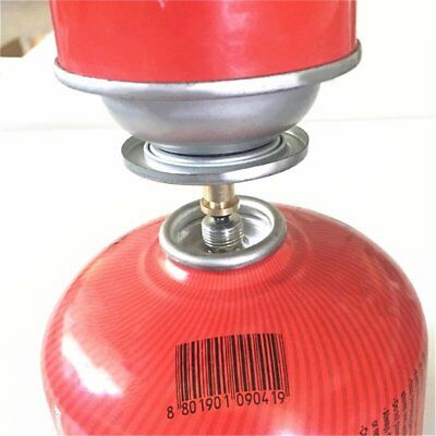 AU Outdoor Camping Hiking Stove Gas Burner Gas Cylinder Tank Refill Adapter PY