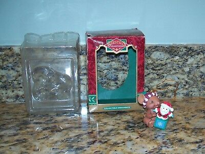 Christmas Traditions Mouse With Santa Jack-In-The Box Christmas Tree Ornament