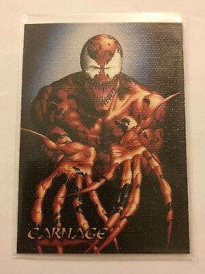 Spider-Man Premium '96 Canvas Card #1 Carnage