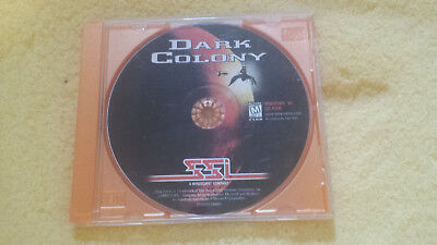 Dark Colony for 32-bit PC 1997 CD-ROM ONLY Disc in EXCELLENT condition!