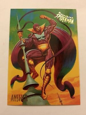Spider-Man Fleer Ultra 1995 Marvel Card #3 Answer